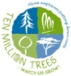Alcoa 10 million trees logo - Global ReLeaf/Alcoa 2013