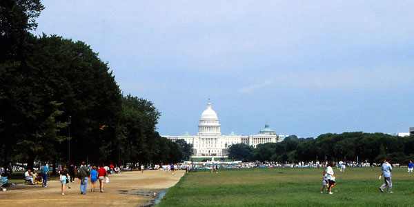 The National Mall and U.S. Capitol, Washington, D.C.