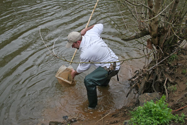 Water-quality testing on a Chesapeake Bay tributary, Patuxent River, in Maryland