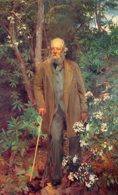 A portrait of Frederick Law Olmsted by John Singer Sargent
