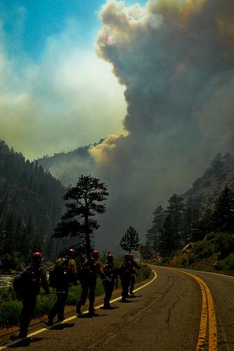 High Park Fire Ft. Collins, Colorado