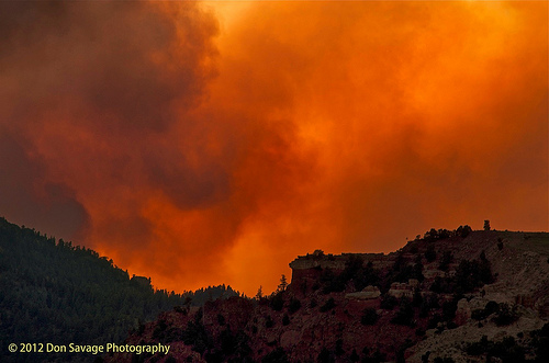 Waldo Canyon Wildfire Colorado Springs