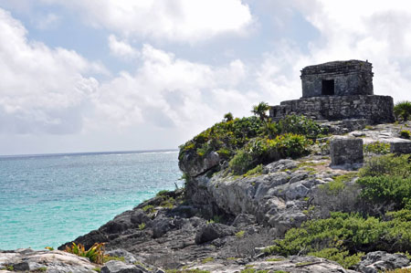 Mayan city of Tulum ruins, Yucatán Peninsula, Mexico