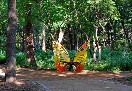 Doug Blachly Butterfly Trail and Garden in Zilker Metropolitan Park