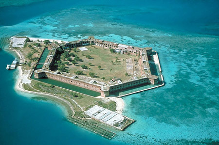 Fort Jefferson on Garden Key
