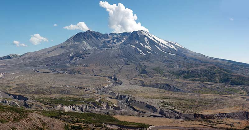 Mount St. Helens in 2011