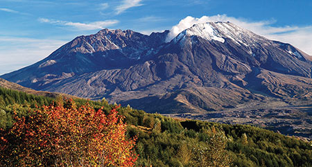 Mount St. Helens 30 years after eruption