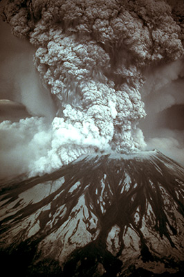 The May 18, 1980 magnitude 5.2 earthquake triggered a major pumice and ash eruption of the volcano