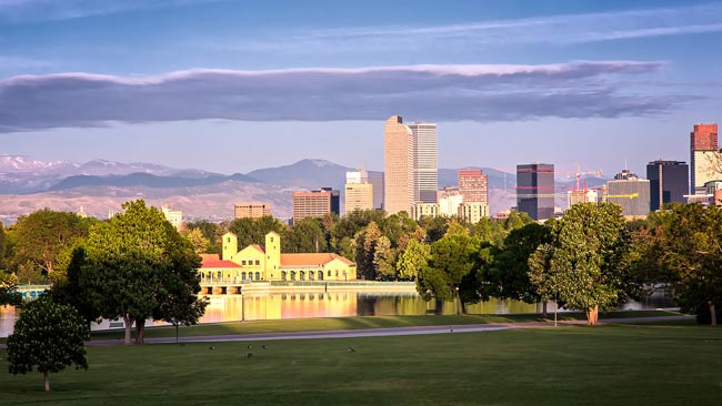 Denver's City Park. Credit: Greg Ness