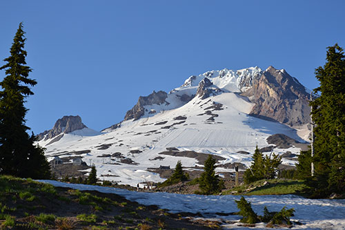 Mount Hood from the Timberline Lodge
