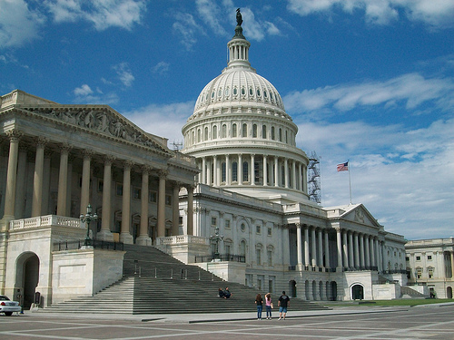 U.S. Capitol Building. Credit: geetarchurchy/Flickr