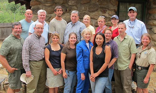 American Forests board and staff members