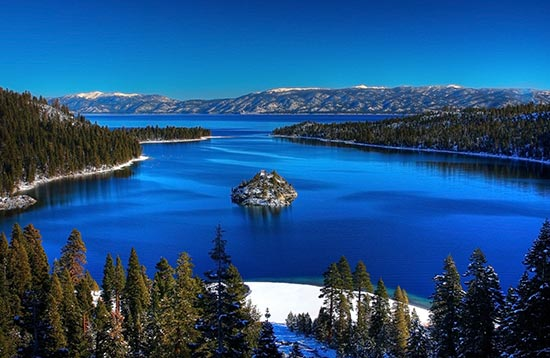 Emerald Bay, Lake Tahoe. Credit: The Tahoe Guy/Flic