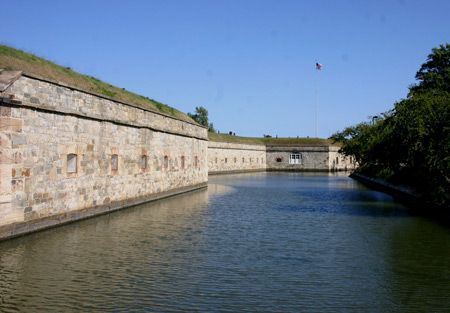 Fort Monroe National Monument in Virginia