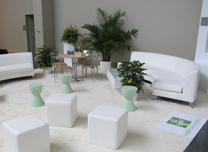 Green Meetings Lounge at the American Society of Association Executives (ASAE) Annual Meeting
