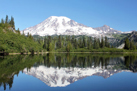Bench Lake, Mount Rainier National Park, Washington