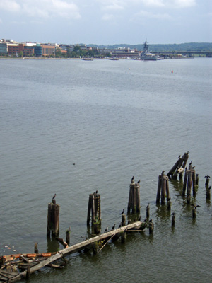 Anacostia River in Washington, D.C.