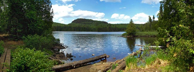 Brule Lake, Superior National Forest, Minnesota