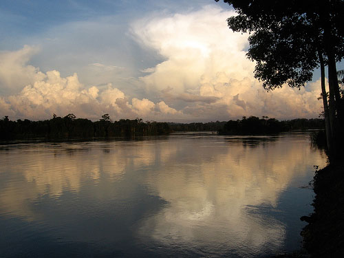 Sunset on the Xingu River in Brazil's Amazon. Credit: Aviva Imhof/International Rivers