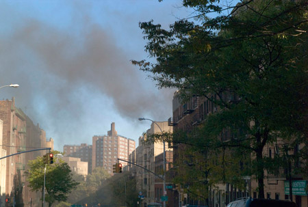 Air pollution in New York City's Washington Heights