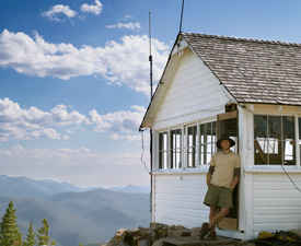 Leif Haugen, Fire Lookout