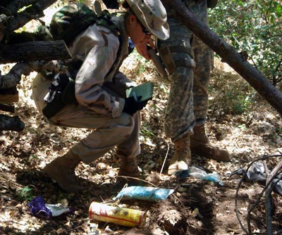 Chemicals and trash found at illegal marijuana grow site in California's Shasta-Trinity National Forest