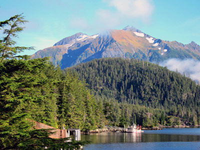 Bear Mountain on the Sitka Ranger District of Tongass National Forest