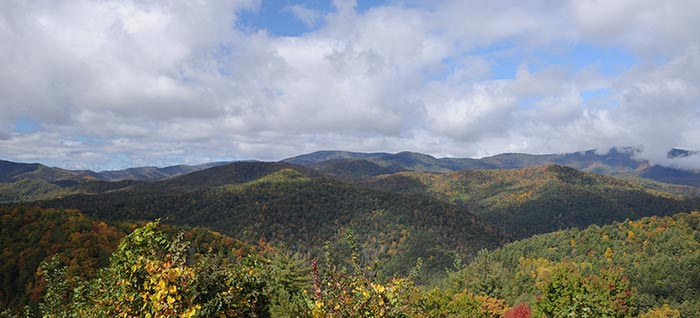 Cataloochee Valley Area of Great Smoky Mountains National Park