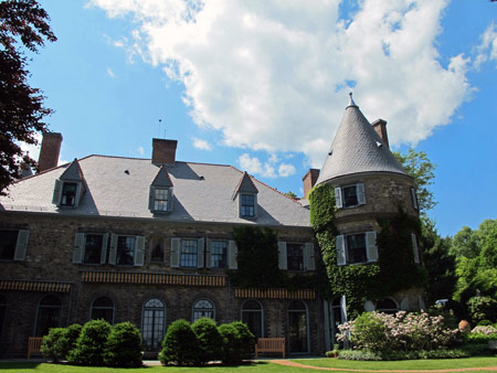 Grey Towers National Historic Site, Milford, Penn., home of Gifford Pinchot.