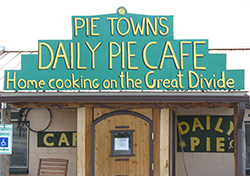 Daily Pie Cafe in Pie Town, N.M.