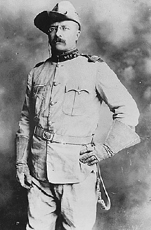 Theodore Roosevelt as Colonel in the 1st Cavalry, U.S.Volunteers, ca. 1898