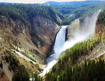Lower Falls, Yellowstone River.