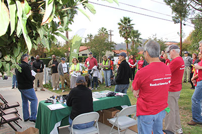 American Forests and Bank of America join Pasadena Beautiful Foundation to plant trees in Pasadena