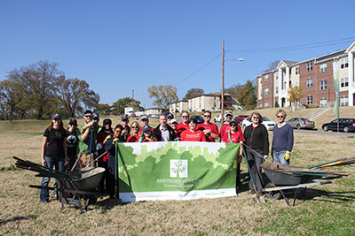 Community ReLeaf planting in Nashville, Tenn.
