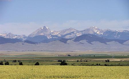 Montana's Snowcrest Mountains