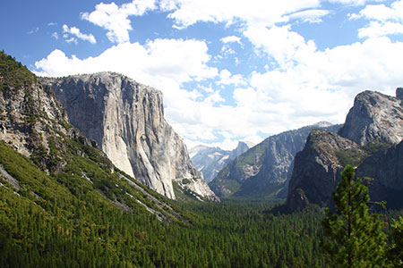 Yosemite became one of the first U.S. national parks in 1890.