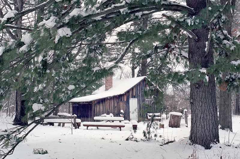 Aldo Leopold's shack.
