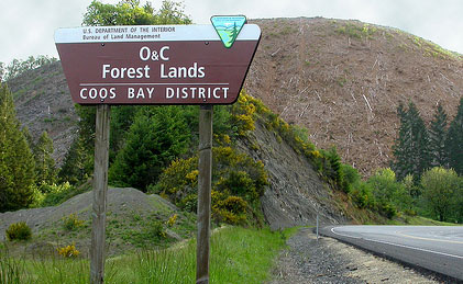 O&C lands Coos Bay
