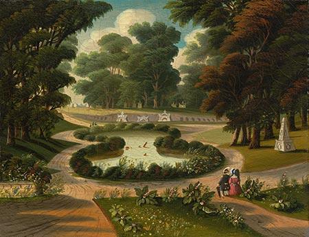 """Mount Auburn Cemetery"" by Thomas Chambers"