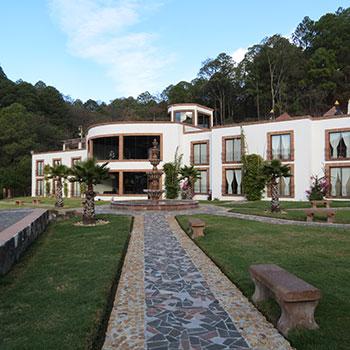 The hotel Mansion de San Antonio