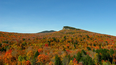 New England's forests are famous for their fall colors