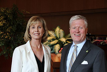 Dr. Diana F. Tomback and American Forests President & CEO Scott Steen.