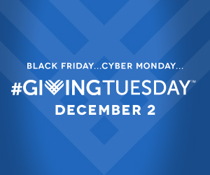 #GivingTuesday logo.