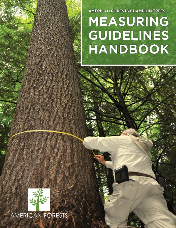 Champion Tree Measuring Guidelines Handbook