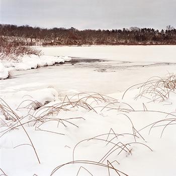 Ennis Lake in winter