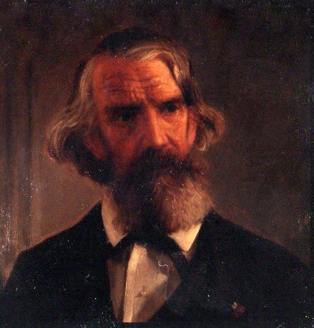 A portrait of an older J.A. Warder