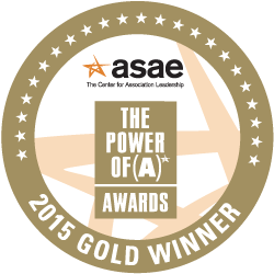 2015 ASAE Power of A Gold Award