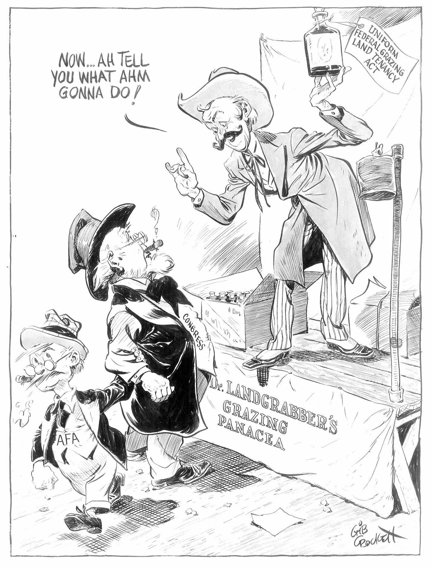 1953 political cartoon