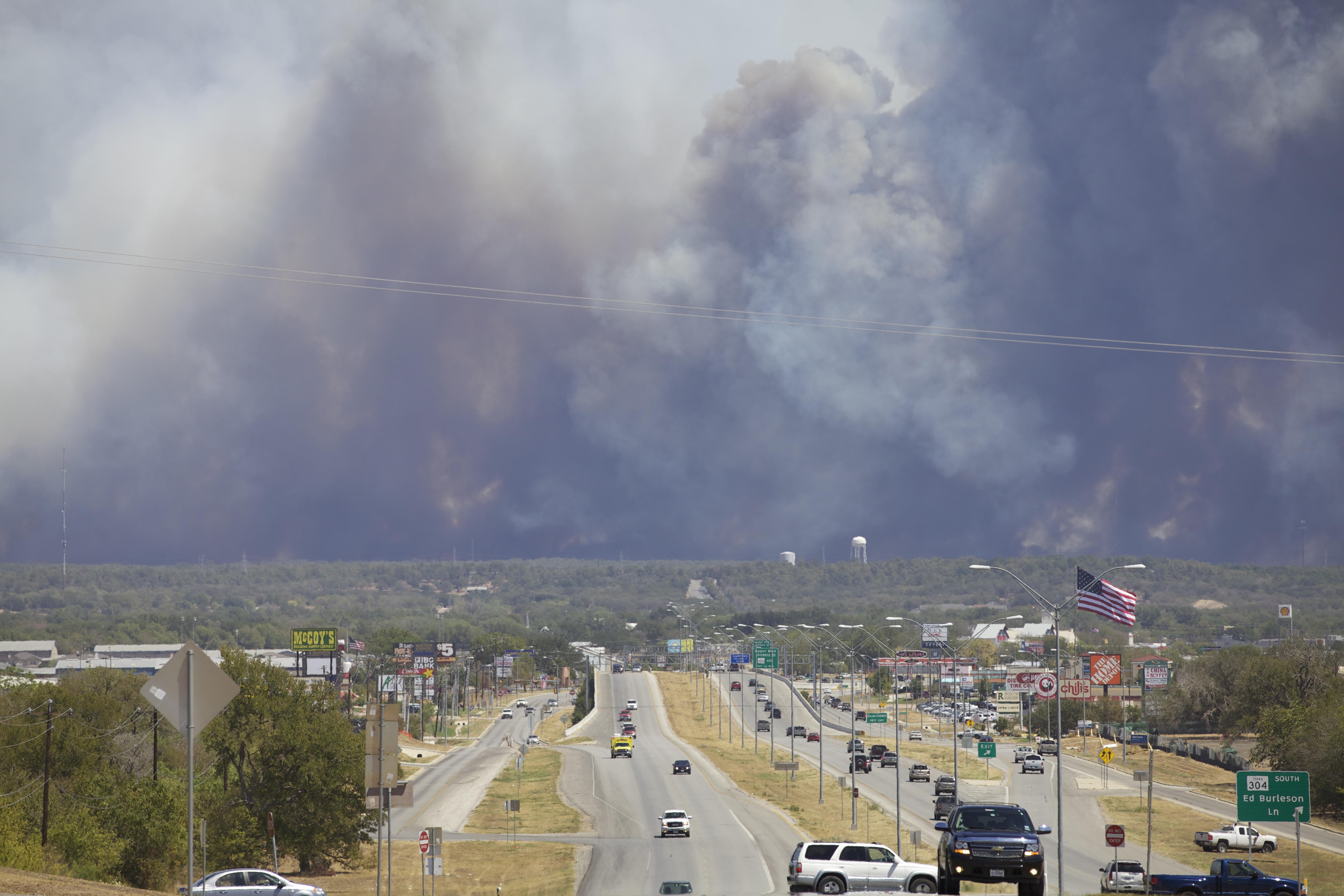 Bastrop Complex Fire