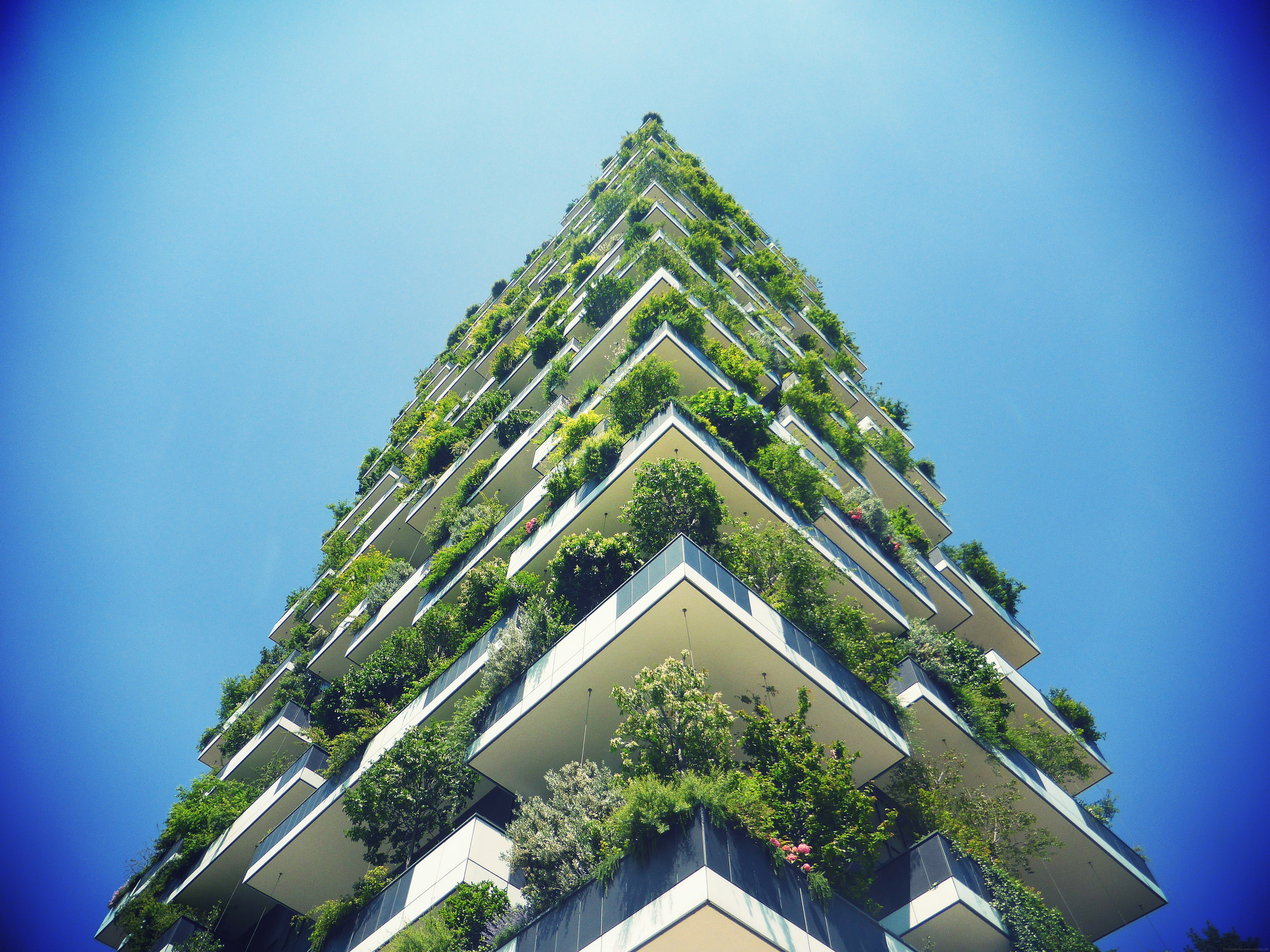 Bosco Verticale building in Milan